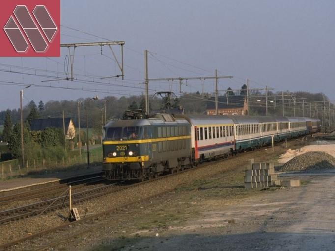 Set Milano - Brussel/Bruxelles EC 90/91 VAUBAN