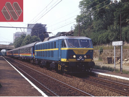 MW2001 / SOLD OUT / Set 1 Brussels-Port Bou INT 1439/1440 Camino Azul Railtour III (1984-1992)