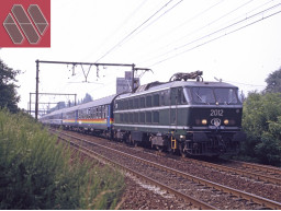 MW2003 / SOLD OUT / Set 1 Brussels-Rimini INT 1290/1291 Freccia Del Sole Railtour III (1984-1992)